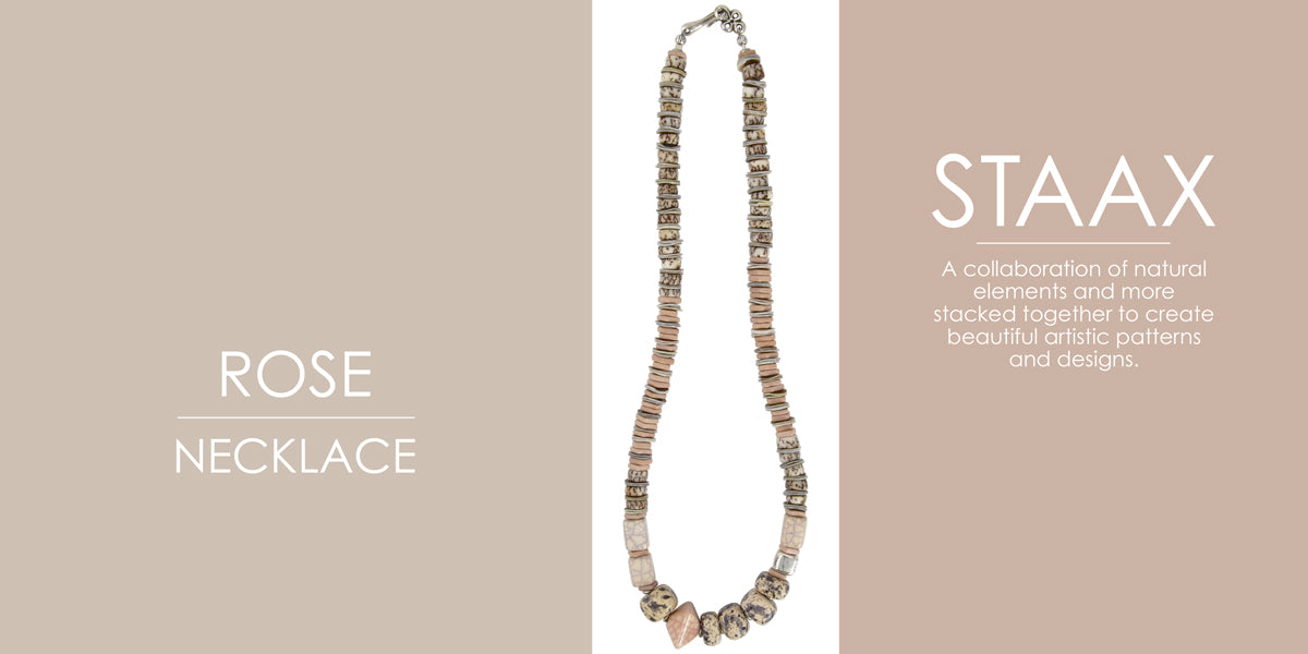Staax Rose Necklace Blog Amphora Beads