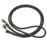 Braided Leather Roping Reisn