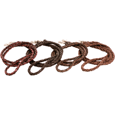 Braided Leather Reins *Cleaeance