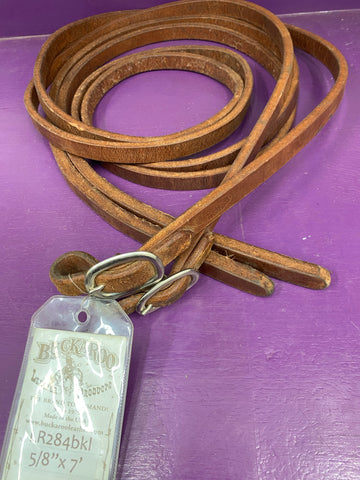 "Thick Heavy 5/8"" Leather Quick Change Split Reins"