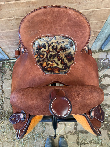 "13.5"" HD 20 Burns Barrel Saddle"