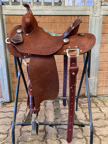"13.5"" 30 HD Burns Barrel Saddle"