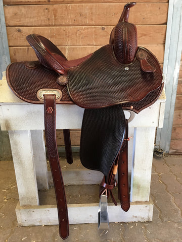 "13.5"" Python Burns Barrel Saddle"