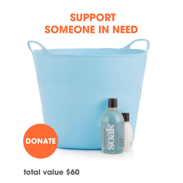 Send a Soak Care Kit to someone in need
