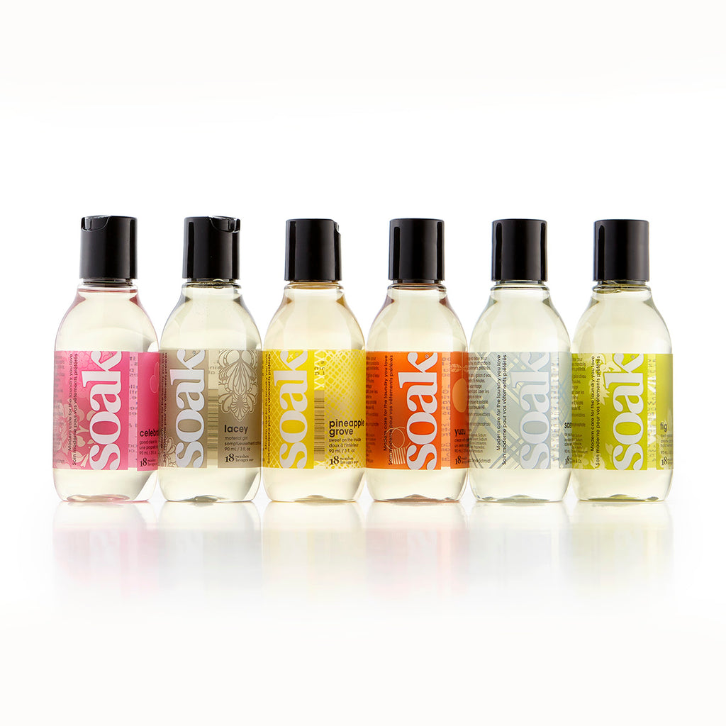 Soak Travel Size Assorted 6pk