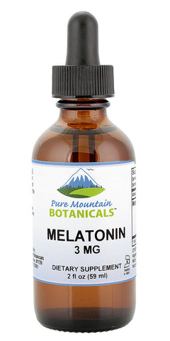 Melatonin Liquid 3mg – Raspberry and Vanilla Flavor Sublingual Drops