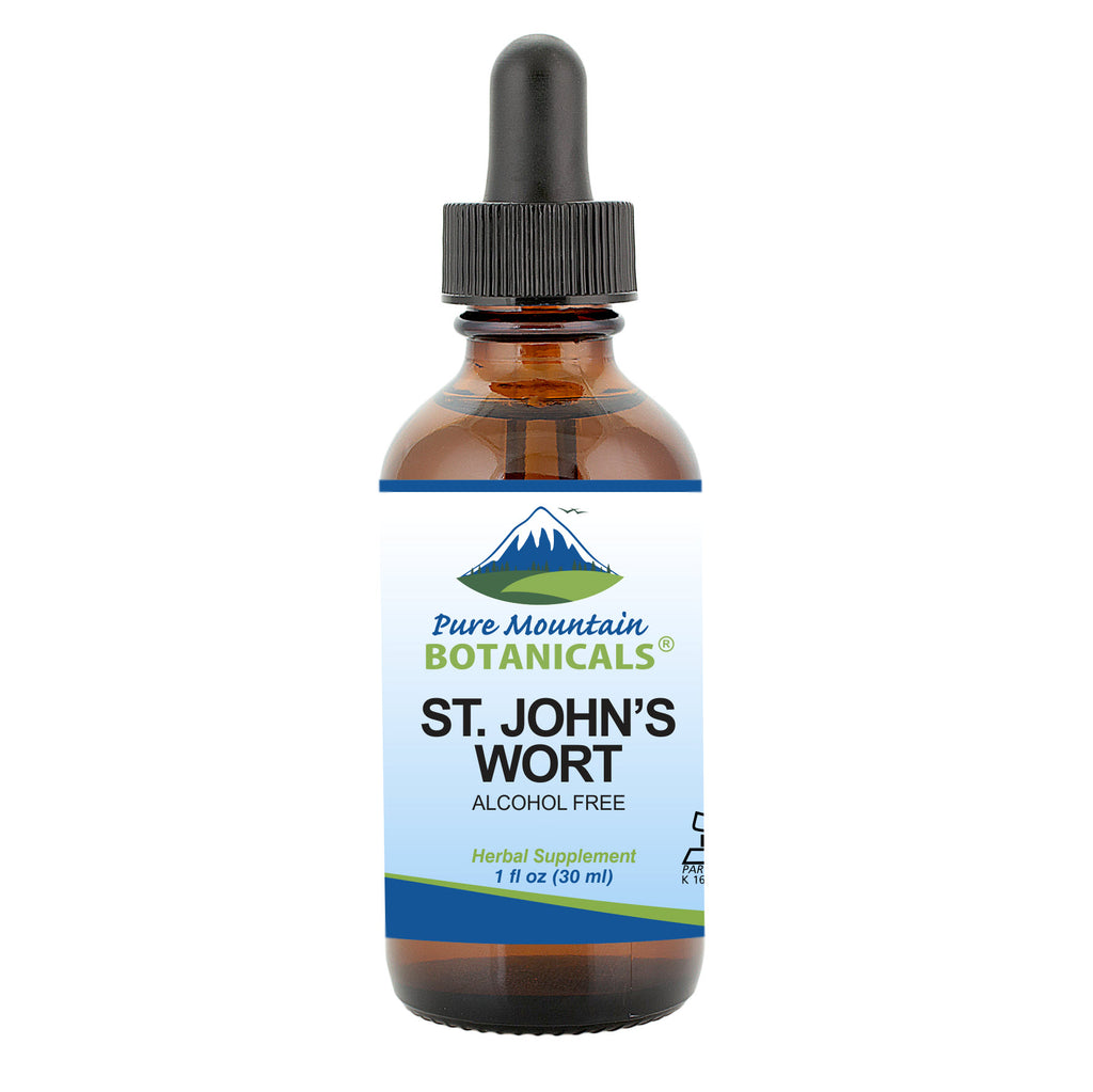 St Johns Wort Tincture – Kosher Liquid St. John's Wort Alcohol-Free Extract