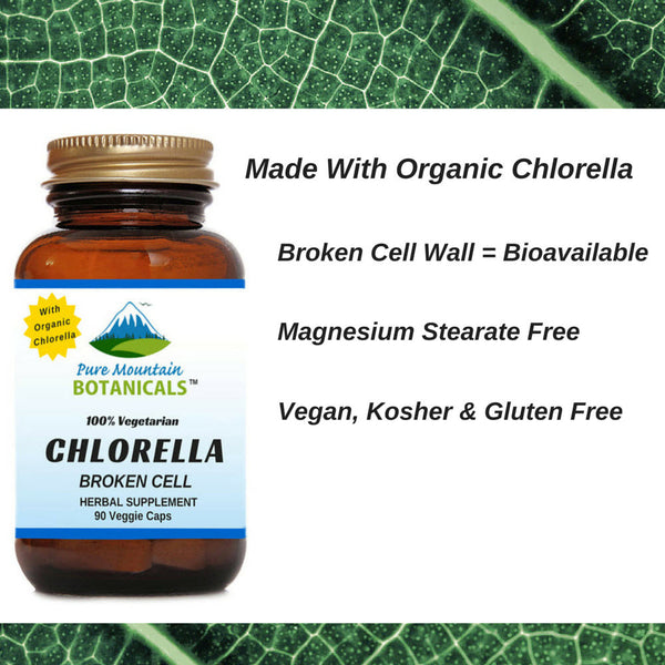 Looking For Broken Cell Organic Chlorella Capsules Pure