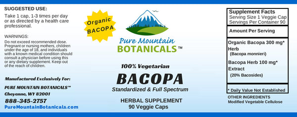 Side Effects Of Bacopa Gold
