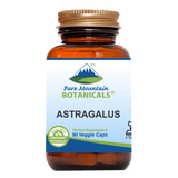 Astragalus Root Capsules - 90 Kosher Vegan Caps with 470mg Organic Astragalus