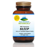 Sleep Supplement with Organic Valerian, Chamomile, Passion Flower, Skullcap, Melatonin, Hops & More!
