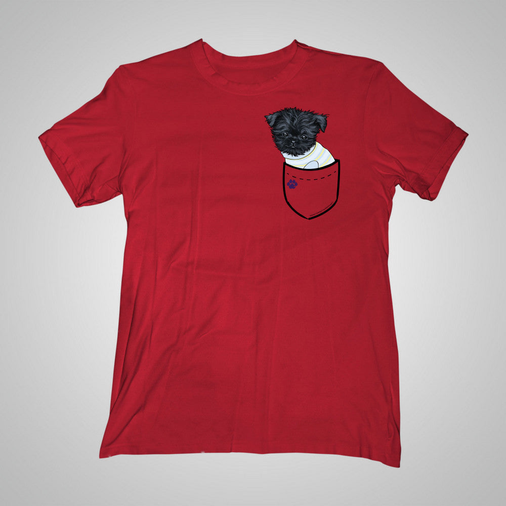 Pocket Puppiez Affenpinscher t-shirt