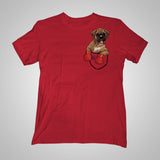 Pocket Puppiez Boxer t-shirt