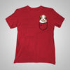 Pocket Puppiez Lhasa Apso t-shirt
