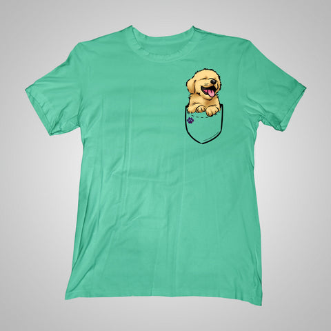 Pocket Puppiez Golden Retriever t-shirt