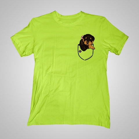 Pocket Puppiez Rottweiler t-shirt