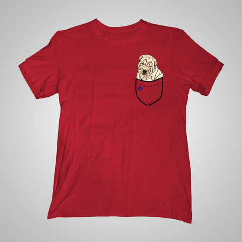 Pocket Puppiez Shar Pei t-shirt