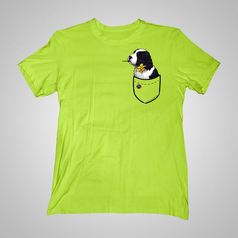 Pocket Puppiez Springer Spaniel t-shirt