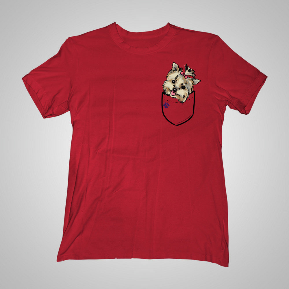 Pocket Puppiez York t-shirt