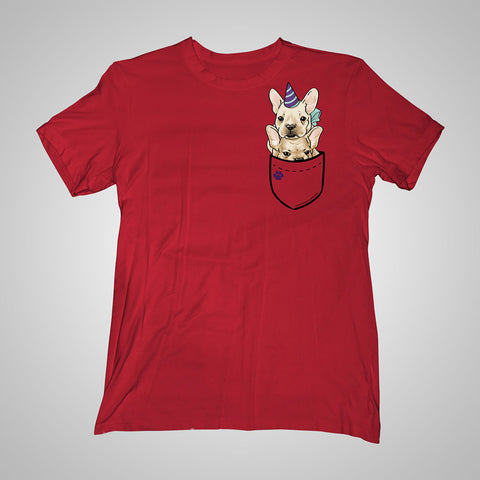 Pocket Puppiez French Bulldogs t-shirt