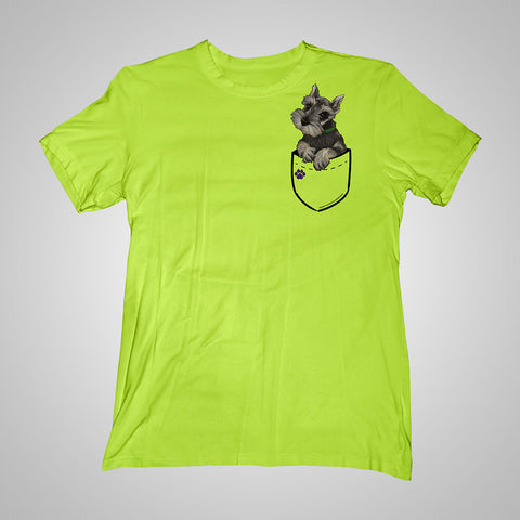 Pocket Puppiez Schnauzer t-shirt