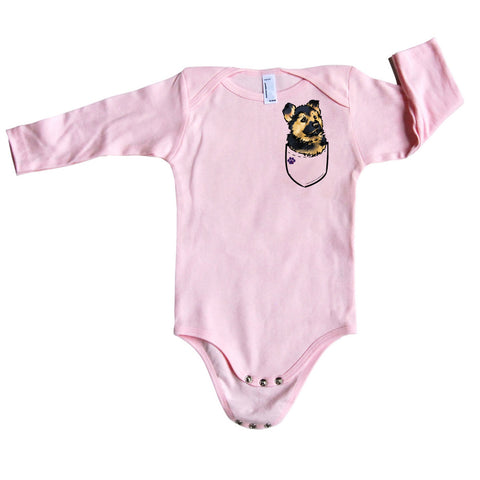 Onsie German Shepherd