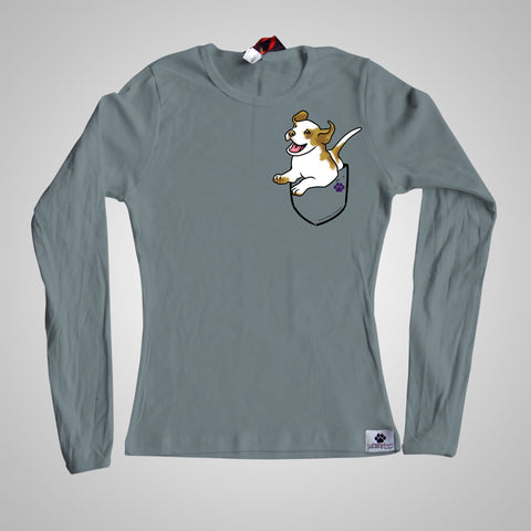 Long Sleeves Pocket Puppiez Beagle