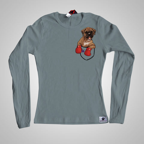 Long Sleeves Pocket Puppiez Boxer