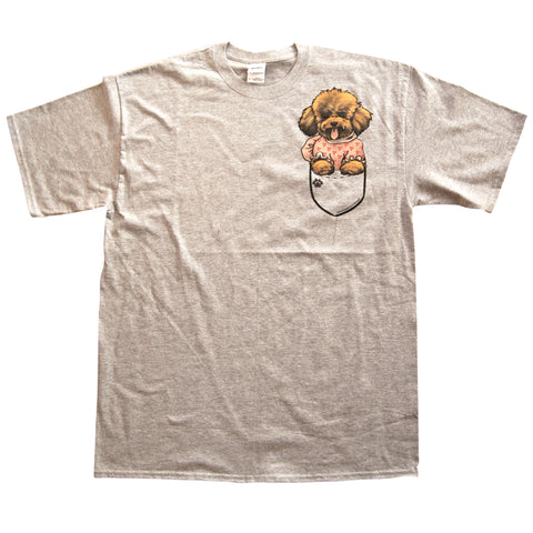 kids t-shirt Poodle