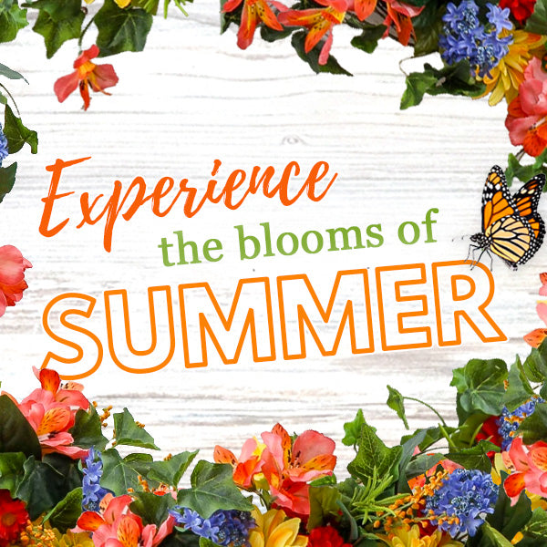 The Summer Collection - Decorate with Dahlias, Sunflowers, Hydrangea, and more!