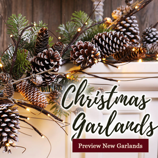 Christmas Garlands - Preview NEW designs for 2020!