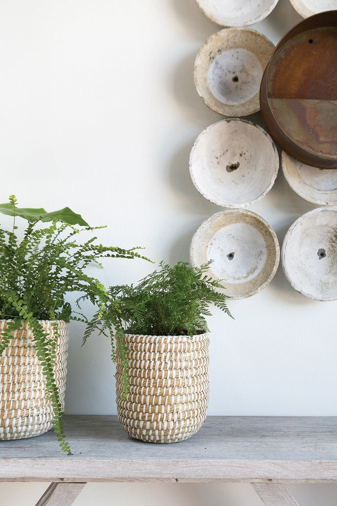 Small River Grass Plant Basket