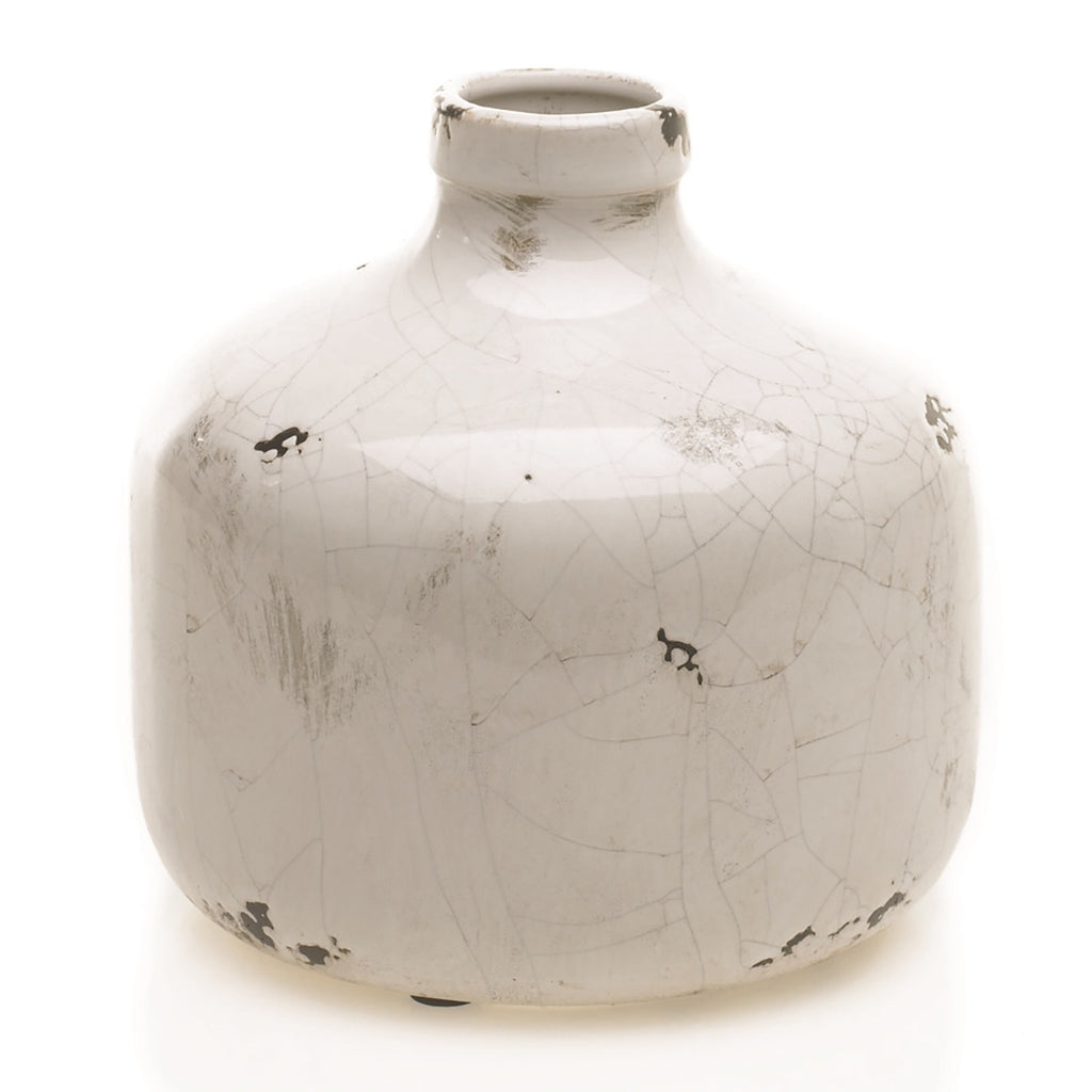 Distressed Rustic Cream Ceramic Jug - 3 Size Options Available