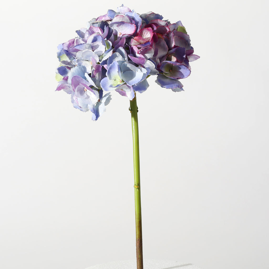 The Perfect Hydrangea Lavender Purple ~ Forever Floral Silk 19 Inch Stem