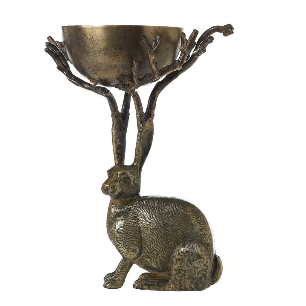 *PRESALE* Eric Bronzed Aluminum Branch Bowl Centerpiece Eric + Eloise Collection
