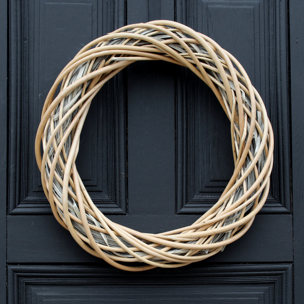 Everyday Wicker Willow Front Door Wreath 20""
