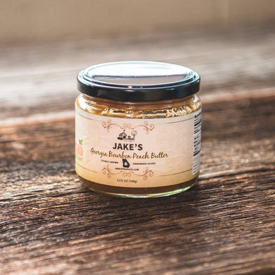Georgia Bourbon Peach Butter