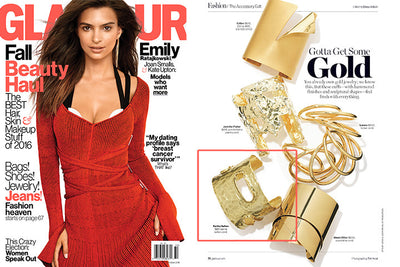 Cuff Love: Featured In Glamour Magazine October Issue 2016