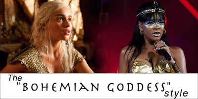 "What Khaleesi and Rihanna have in common: ""Bohemian Goddess"" Style."