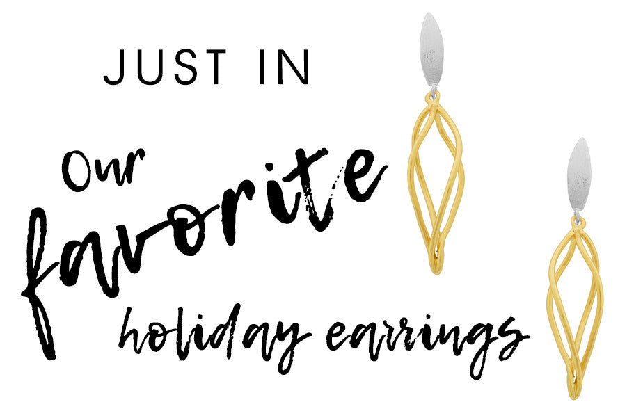 OUR FAVORITE HOLIDAY EARRINGS BY KARINE SULTAN