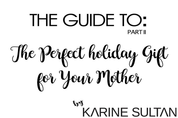 Perfect Holiday Gift(s!) for Your Mother: She Deserves Something She Will LOVE