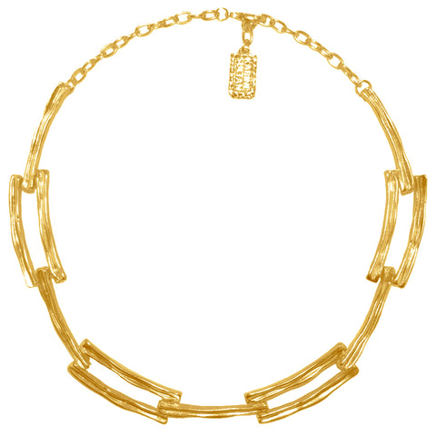 CAMILLE ART DECO COLLAR NECKLACE