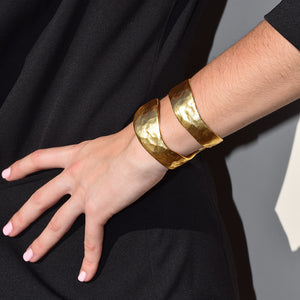 ANNIE SPLIT CUFF - Karine Sultan Official Website