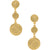 Louise Coin Pendant Earring - Karine Sultan Jewelry