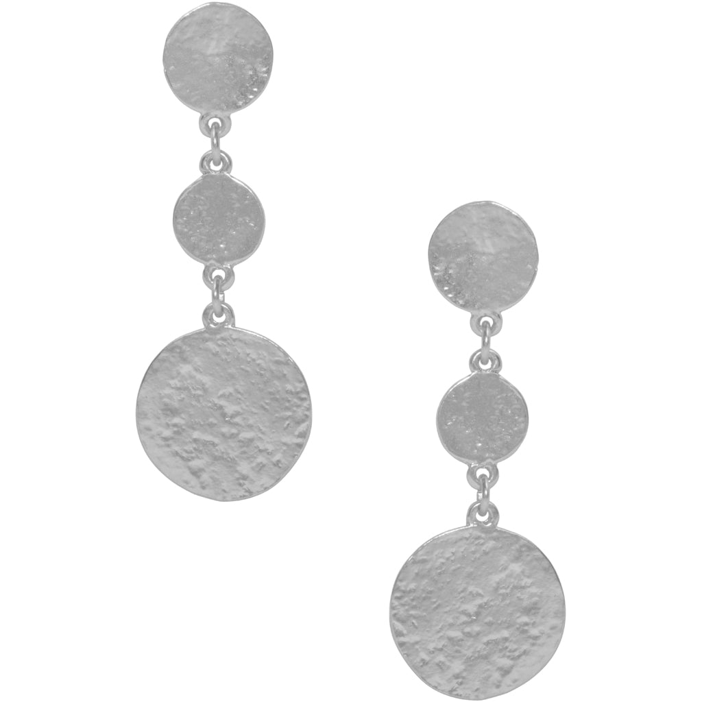 LOUISE COIN PENDANT EARRING