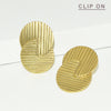 Miri Retro Circle Clip On