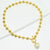 Mariela pearl drop necklace - Karine Sultan Jewelry