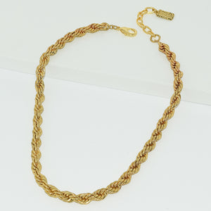 EVY BRAIDED COLLAR NECKLACE