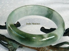 """China's Favorite"" Grade A Jadeite Jade Bangle Bracelets with Certificate"