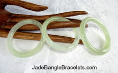 Traditional Genuine Chinese Jade Bangle Bracelets